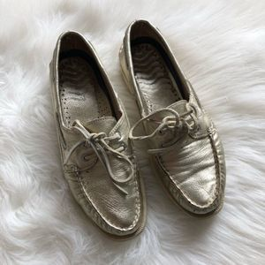 Sperry Top-Sider Gold Boat Shoes